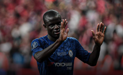 """Frank Lampard on N'Golo Kante:   """"He said to me after 105 minutes time, """"My legs are dead, my legs are finished"""" and then I saw him sprinting 50-yars to recover the ball""""  What a special player 👏👏"""