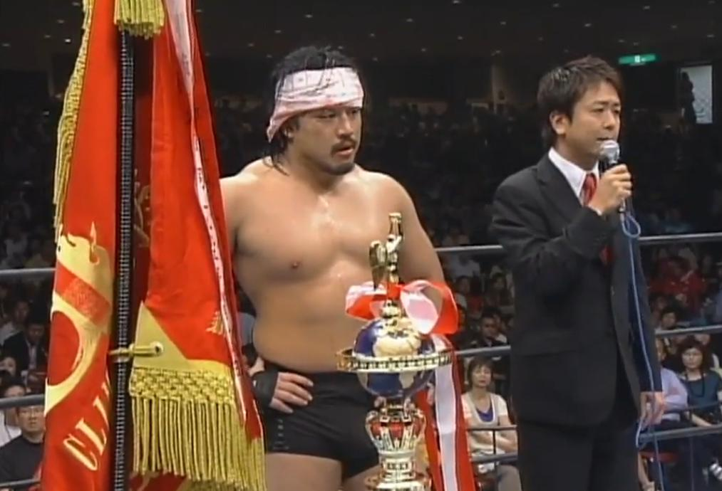 It's Saturday, August 17 in Japan! #onthisday in 2008, the 'G' in G1 stood for Goto, as Hirooki Goto withstood phenomenal odds, Togi Makabe and his entire GBH crew to win the G1 on his first attempt! Relive history with @njpwworld!  http:// ow.ly/I1eO50vzbhD      #njpw<br>http://pic.twitter.com/kW7cb1e6vk