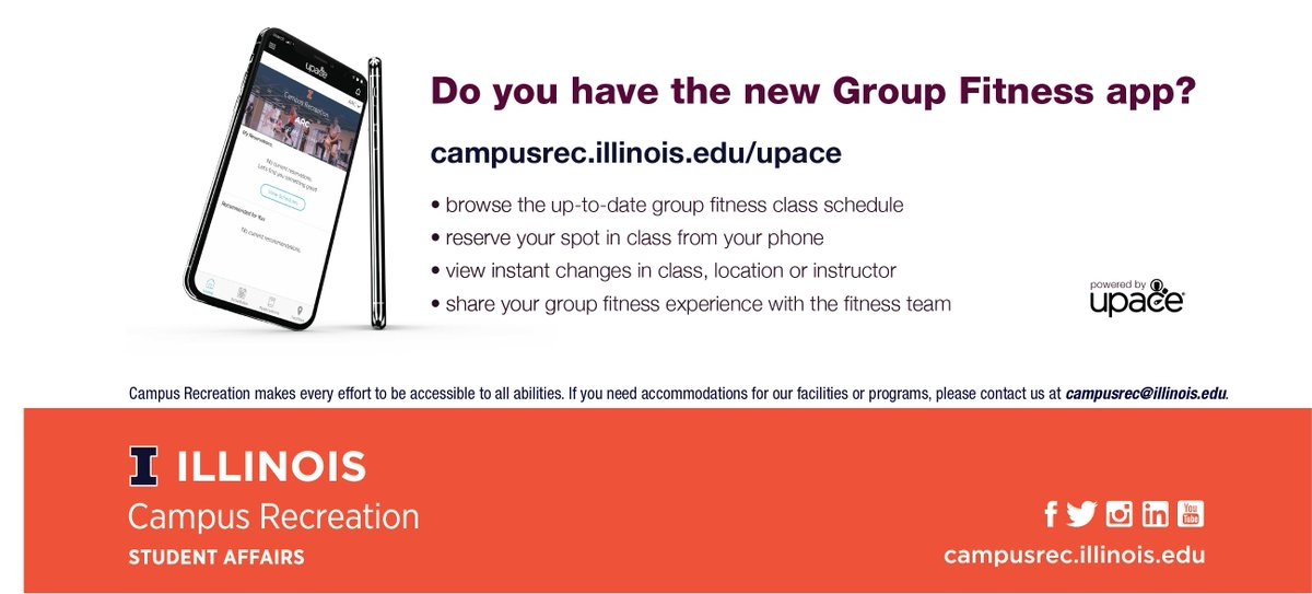 Illinois Campus Rec - @IlliniCampusRec Twitter Profile and