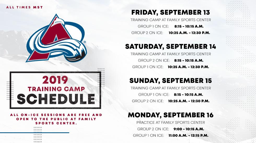 Colorado Avalanche @Avalanche
