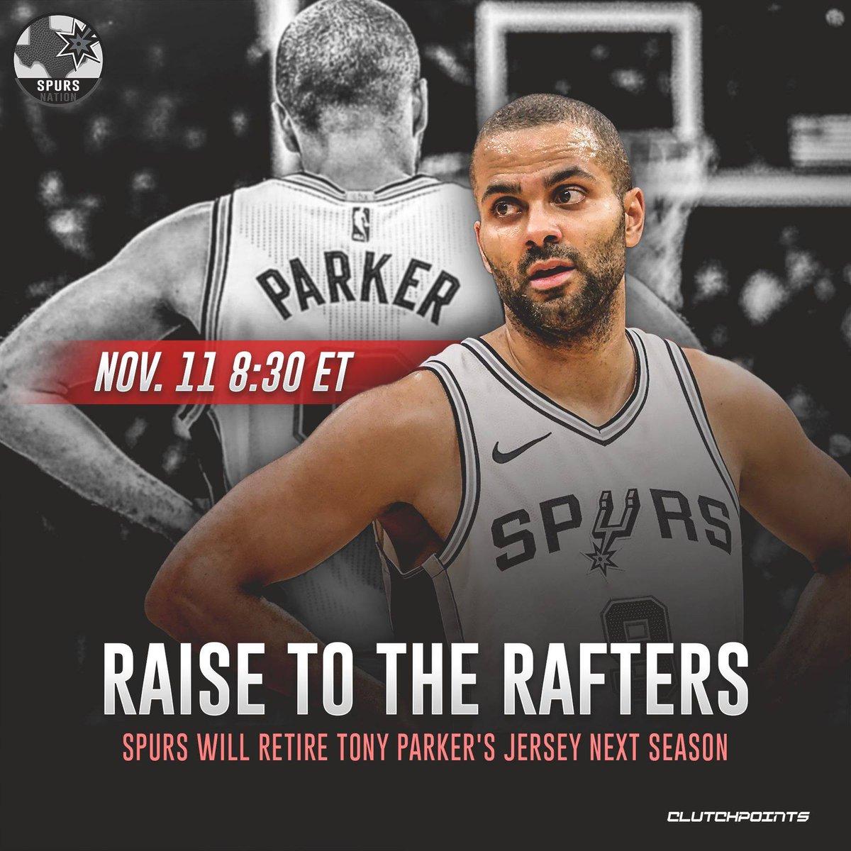 Get your tickets #Spurs fans to honor future HOF Tony Parker   #Gospursgo <br>http://pic.twitter.com/J8njg92cHX
