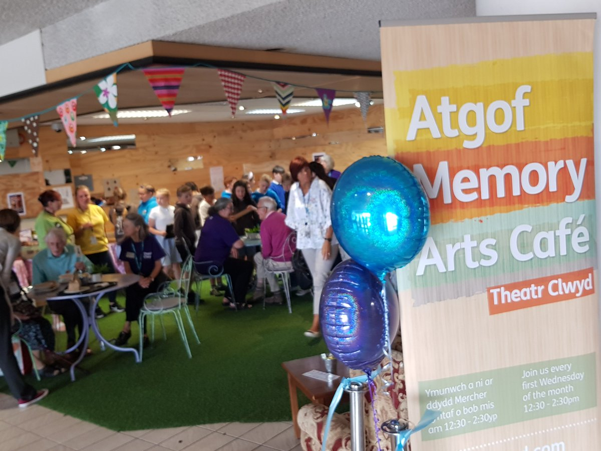 Were on the hunt for local people with talent and time and an interest in working with people with dementia to come and be part of the Memory Arts café at Theatr Clwyd! Musicians / magicians / singers Please contact Hester hester.evans@theatrclwyd.com #DementiaFriendly