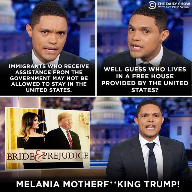 We connected the dots and it's abundantly clear that Donald Trump is trying to deport Melania. #DontDeportMelania Full piece: http://bit.ly/31xtyJA