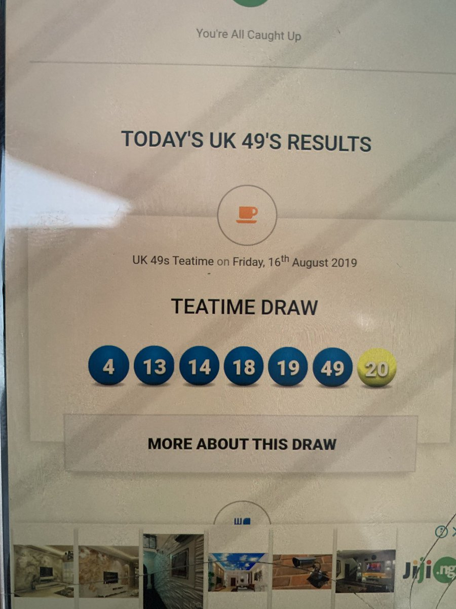 Top Five Uk 49 Teatime Draw Results - Circus