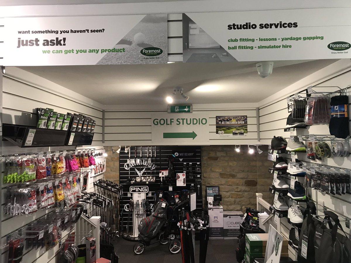 Delighted with our new pro shop signage @brackenghyllgc @Foremostgolf @ForemostCharlie #MTGolf #addingham #yorkshire