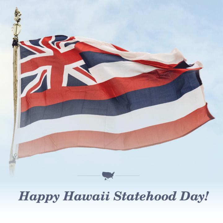 Happy Hawaii Statehood Day!