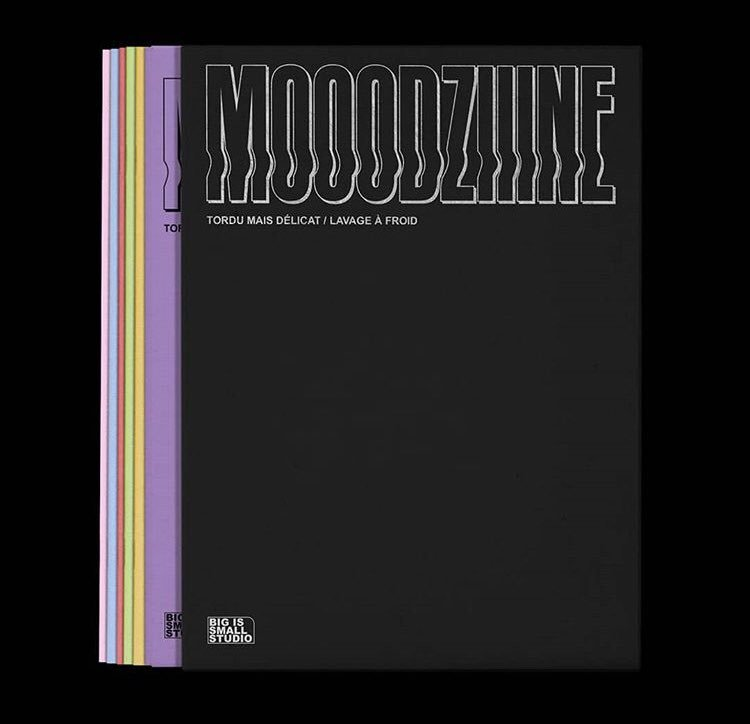 Moodzine by @bis_studio: 'This fanzine is a kind of graphic mood post, a way to promote our inspirations, feelings, our gaze in front of graphic design through a graphic narrative form' bis-studiographique.com #grafikmedia #graphicdesign #graphic #magazine #zine #illustration