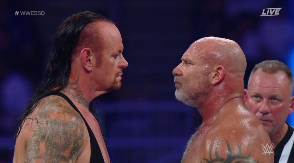 Goldberg On What Went Wrong In His Match Against The Undertaker At WWE Super ShowDown https://t.co/AiACp0eQQr https://t.co/AYY0FhD8d3