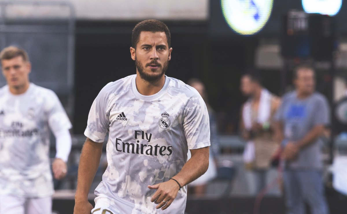 Eden Hazard will miss Real Madrids opening game of the La Liga season due to a hamstring injury.