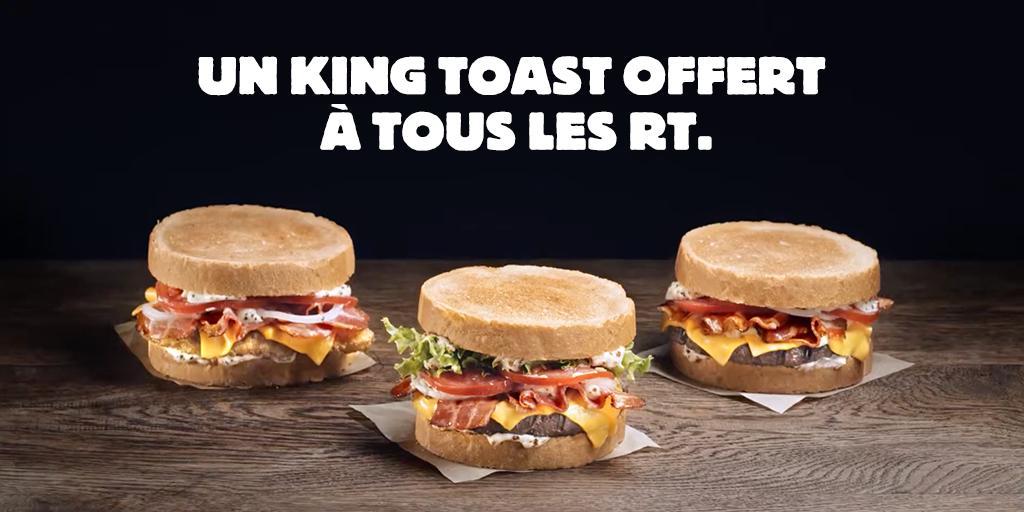 Mais seulement si Quick France retweete aussi.