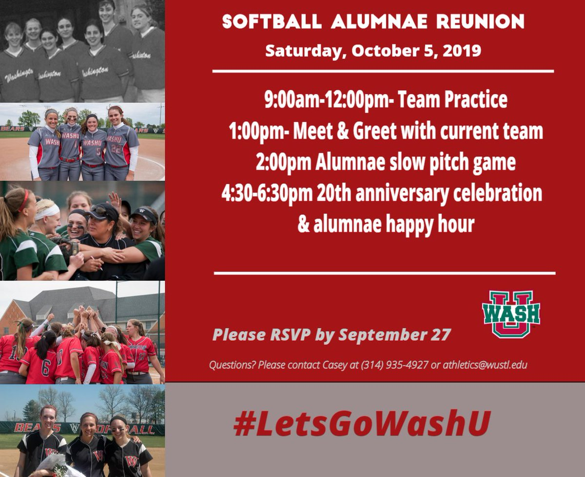 WashU Softball (@WASHUSoftball) | Twitter
