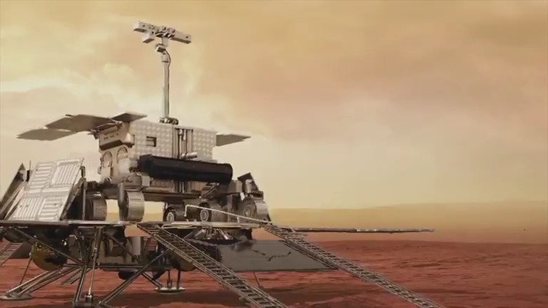 🎥 The #ExoMars mission will see the Rosalind #Franklin rover and its surface platform #Kazachok land on #Mars in 2021. This second @esascience episode shows the challenges of leaving the platform, overcoming martian obstacles and walking over dunes. 👉youtu.be/BNItE7zjhq8