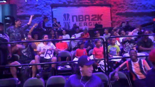 We had a feeling @TheReelPhilD already knew the vibes, but just to be sure @FanumTV came along for the ride on his #LottoMaxUpClose trip to the @NBA2KLeague studio‼️ @LottoMax stays hooking the fans up 👉 lottomaxupclose.ca
