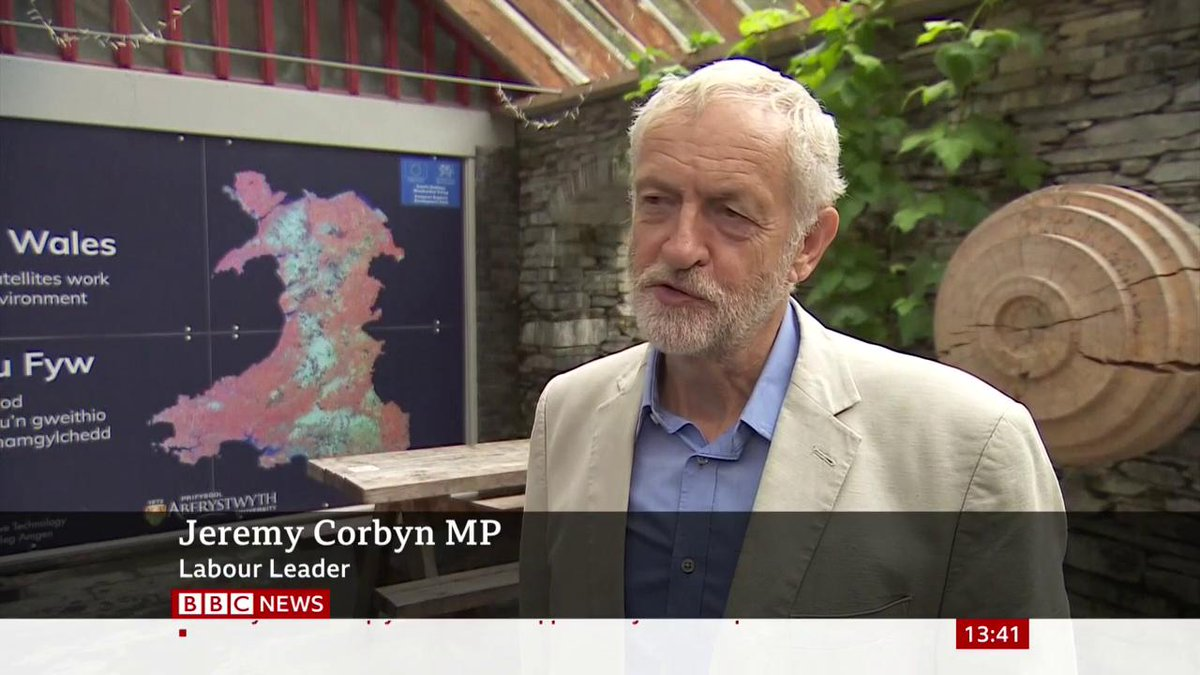 """""""When a government collapses, the leader of the main opposition party is called upon""""Jeremy Corbyn is challenged on whether he would accept a caretaker government led by Ken Clarke or Harriet Harman, if it meant avoiding a no-deal #Brexithttp://bbc.in/31HAP9B"""