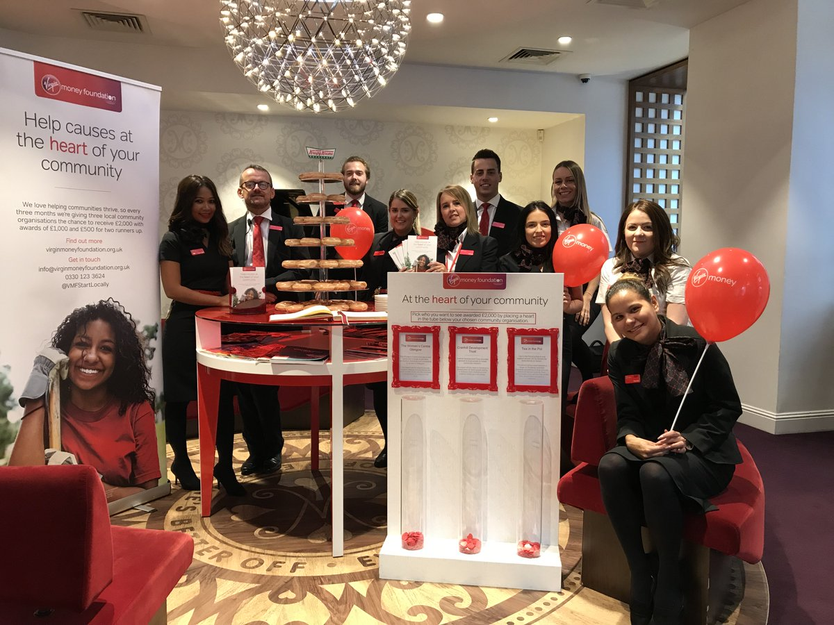 We're on a mission to support community regeneration by backing the people who can make big changes happen locally. We're working with the @VMLounges and giving three local charities the chance to receive £2,000 #HeartoftheCommunity @VirginMoney  http:// ow.ly/Bc0i50p42bG    <br>http://pic.twitter.com/z8VFc07vyo