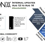 Image for the Tweet beginning: #MoonXwithEOS #Internalupdates