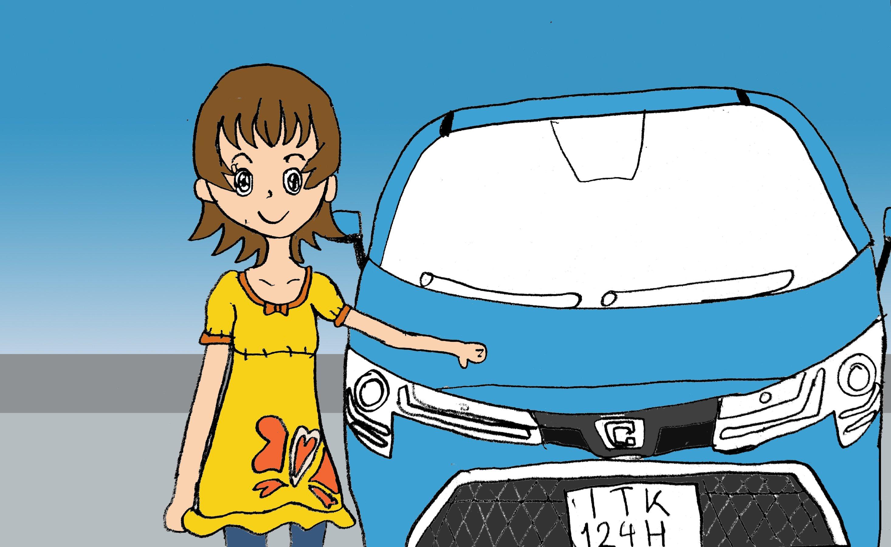 大森ゆうこ Σ4/โอโมริ ยูโกะ ซิกม่าโฟร์🍚🍯 (@Omoriyuko28V4WD)さんのイラスト