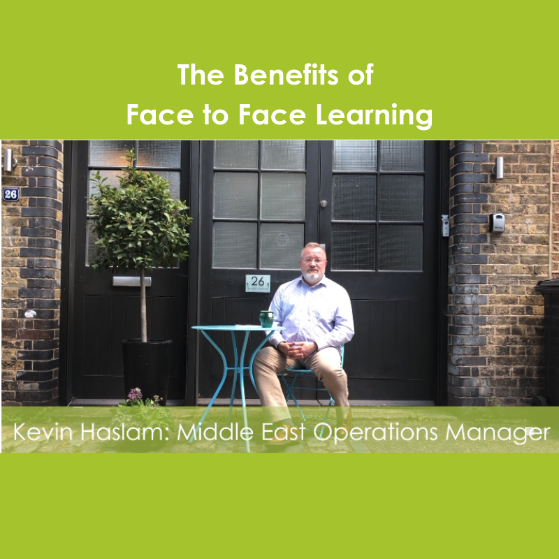 Our very fabulous tutor Kevin shares his students Face-to-Face learning experience. He covers the benefits of face-to-face as well as his own personal experience. Find out more by watching the video: buff.ly/32uVdvQ