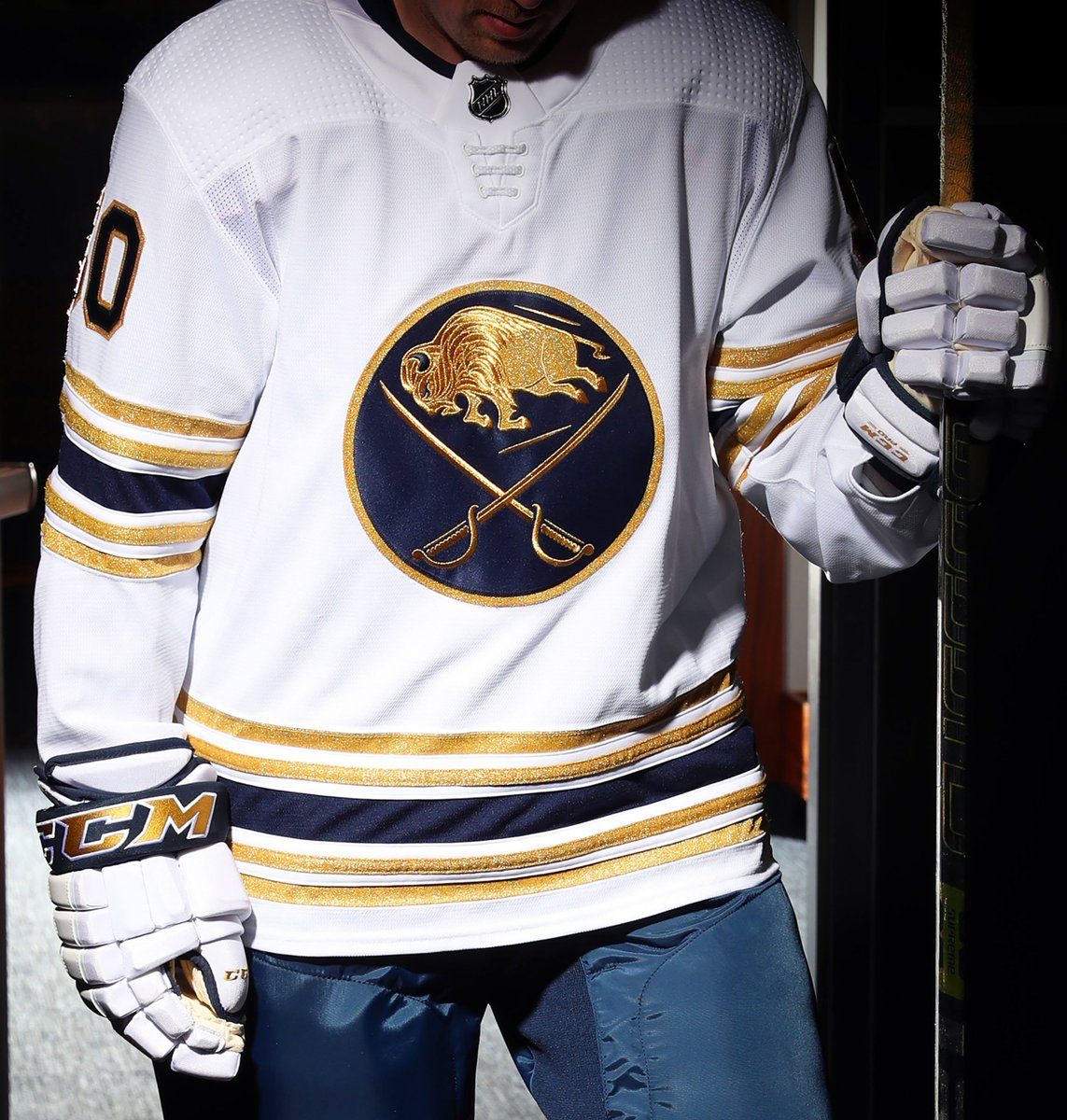 Our history in threads. #Sabres50 bufsabres.co/50Jersey