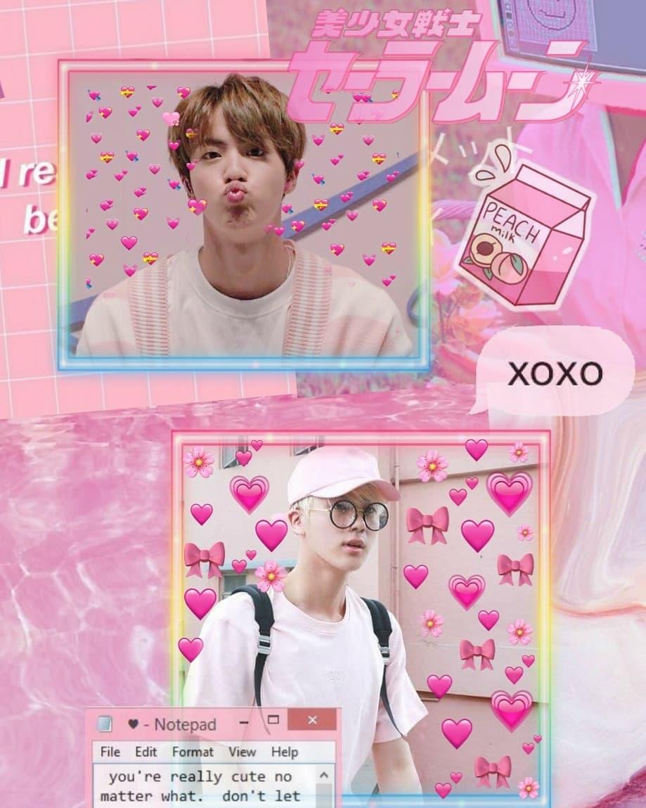 Aesthetic 2019 Cute Jin Cute Largest Wallpaper Portal