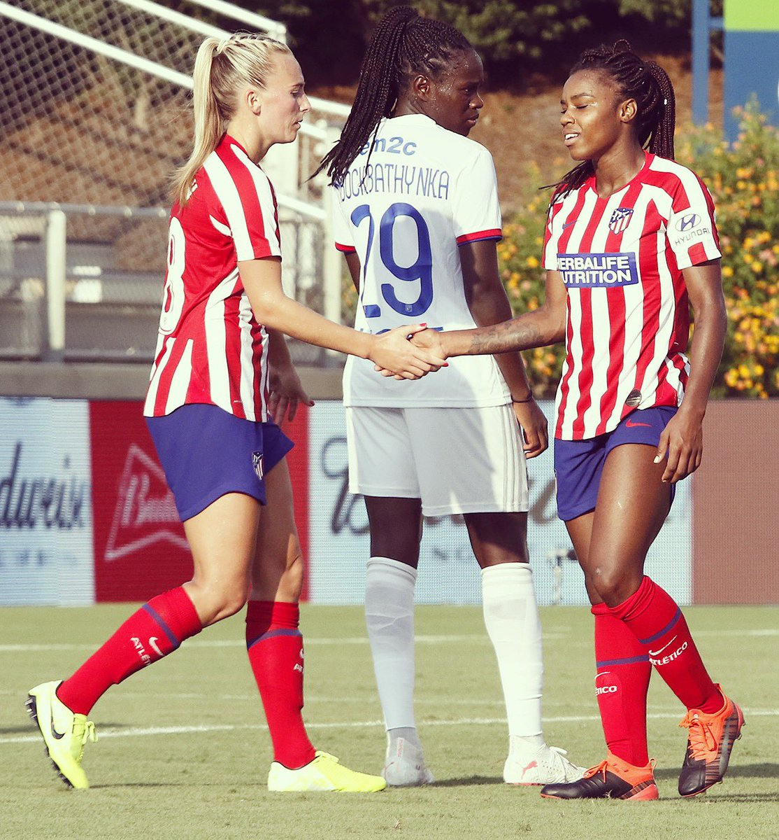 Great run out v Lyon yesterday, Gutted to lose in the last minute..  but proud of the whole teams performance! Onto the next one...  #AúpaAtleti<br>http://pic.twitter.com/5daeiEw2y9