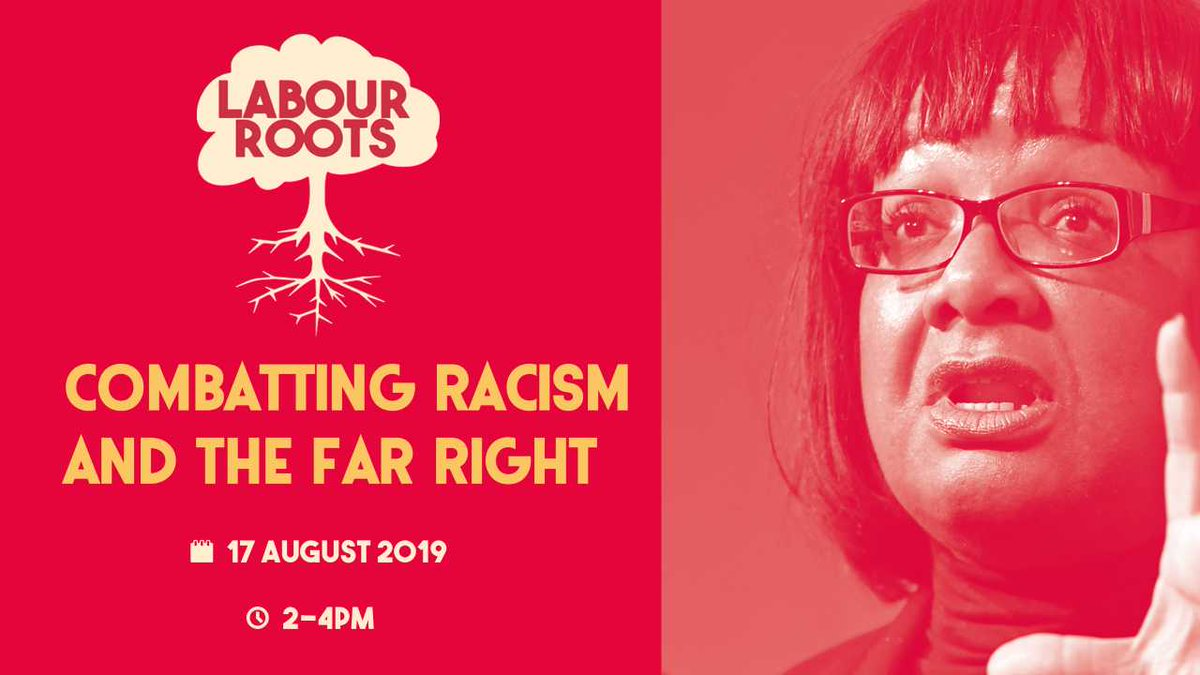 As Boris Johnson is busy dividing, Labour is proudly uniting people. #LabourRoots is about coming together in our communities. Im bringing people together to talk about fighting racism, before going to @UKLabours huge people-powered rally. RSVP quick bit.ly/combat-racism-…