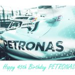 You don't look a day over 44... 😜   Join us in wishing a big Happy Birthday to our pals at PETRONAS! 🎂🎁🥳  @PET_Motorsports
