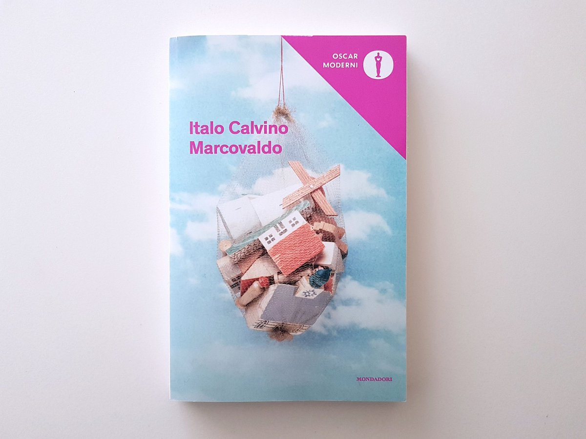I read again the fabulous #Marcovaldo by #ItaloCalvino 30 years later and discovered a new sharp and gloomy book I wasn't aware of. #OscarMondadori @Librimondadori