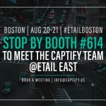 Drop by booth #614 to catch up with the Captify crew at #eTailEast next week! Before the show kicks off, read about the brands the team is excited to hear from and the hot industry topics that will be discussed: https://t.co/aPDLCGkB8B #retail #eCommerce