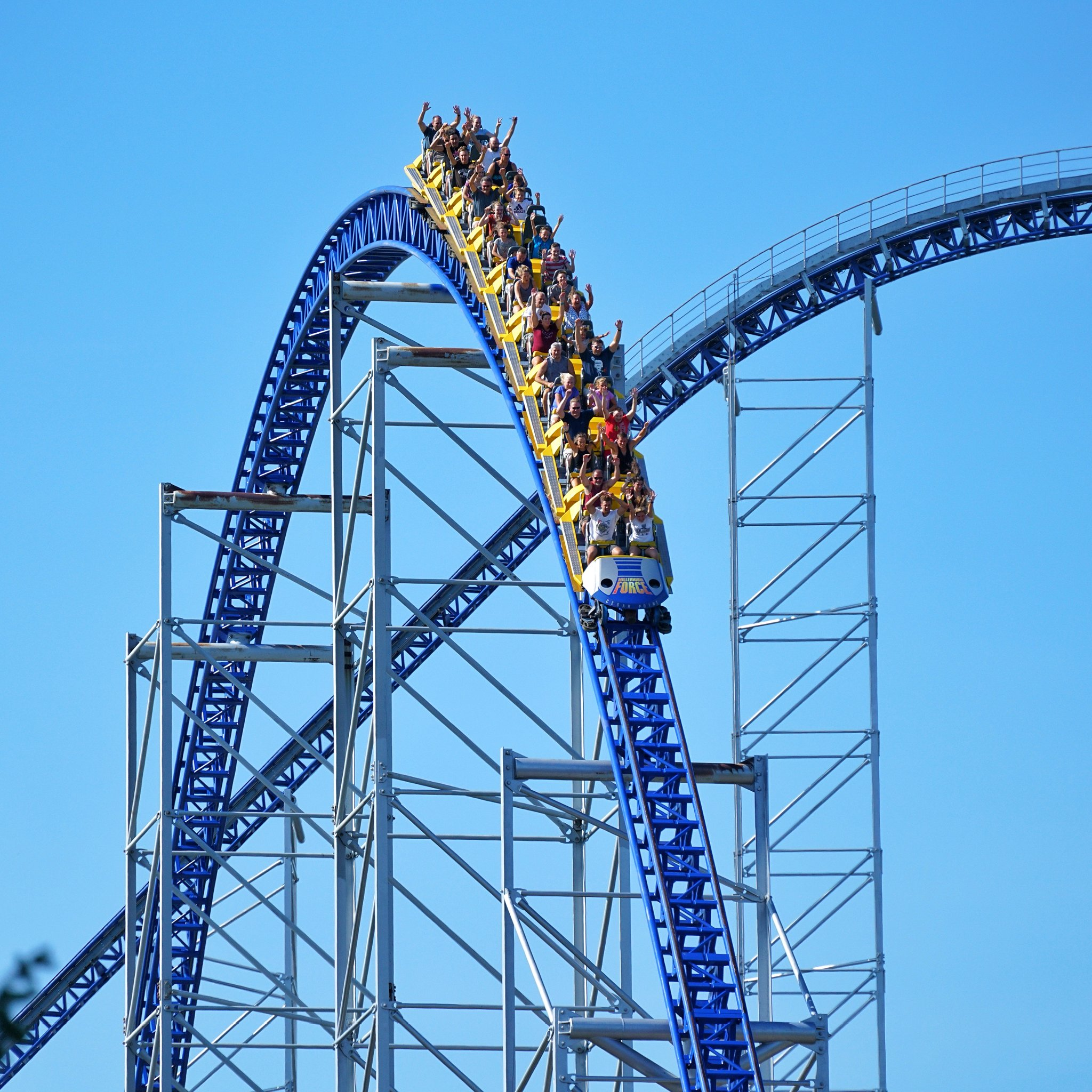 pac man roller coaster