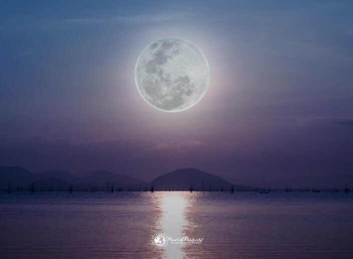 Just like the moon, your greatest magic will come in times of darkness, when you have no choice but to trust your own power...