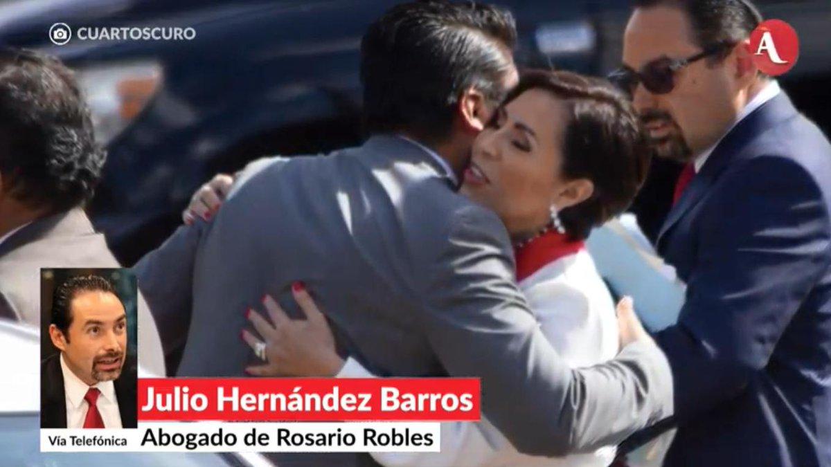 El juez Delgadillo Padierna es sobrino de Dolores Padierna, quien públicamente ha acusado a Rosario Robles de ser culpable de que su marido,  René Bejarano, haya estado en prisión, en #AristeguiEnVivo 👉http://ow.ly/mnKH30pmzJK