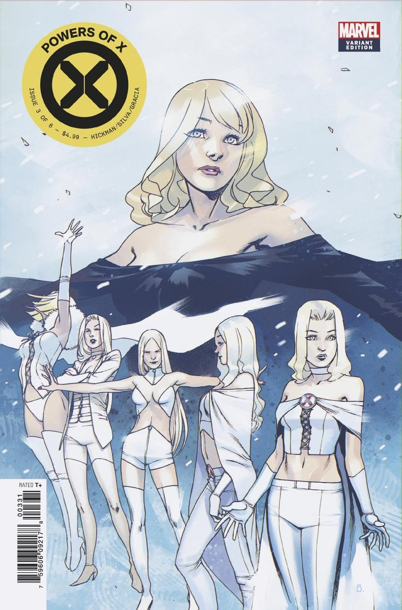 Check out this @bengal_art variant for this #NCBDs POWERS OF X #3! By @JHickman, @RB_Silva, @Adr_Ben, @martegracia, @ClaytonCowles, @hellomuller, @annalisebissa and @cracksh0t