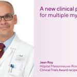 Image for the Tweet beginning: Dr. Jean Roy at Hôpital