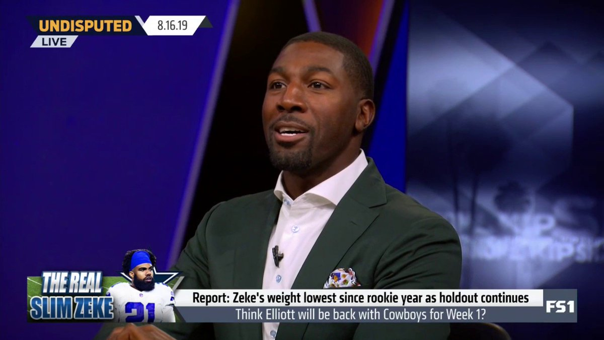Former NFL Star Greg Jennings Predicts How The Ezekiel Elliott Holdout Will End