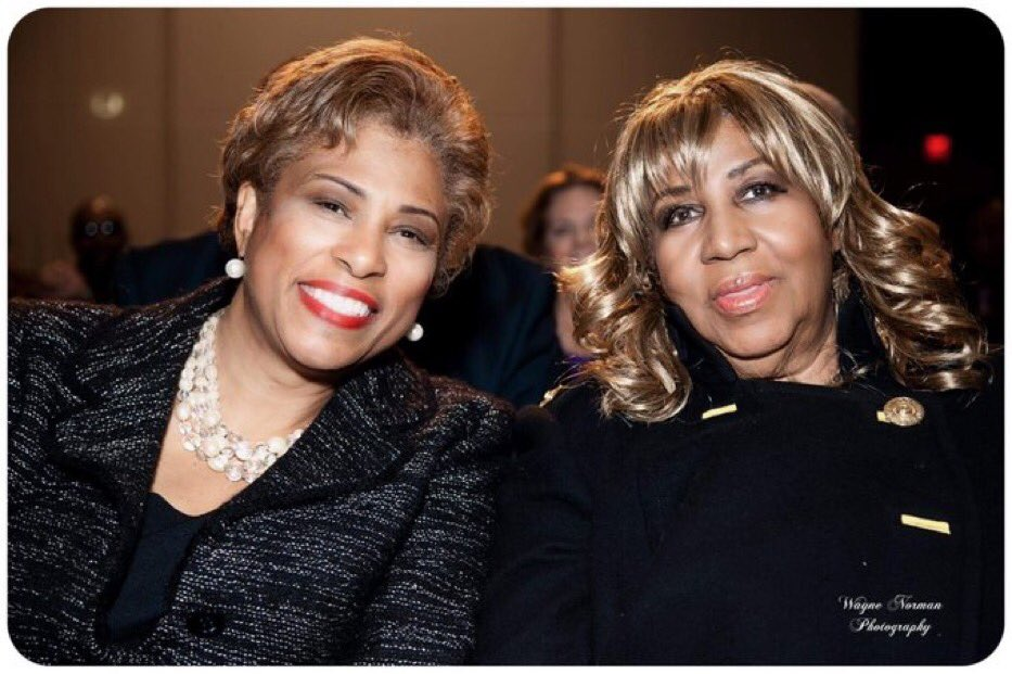I can't believe it's been a year already! To my dear friend #TheQueenOfSoul you are truly missed. We will continue to celebrate your beautiful spirit and legacy 🕊❤️ fly high friend #RestInPower @ArethaFranklin