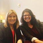 Image for the Tweet beginning: I met @RashidaTlaib in Washington