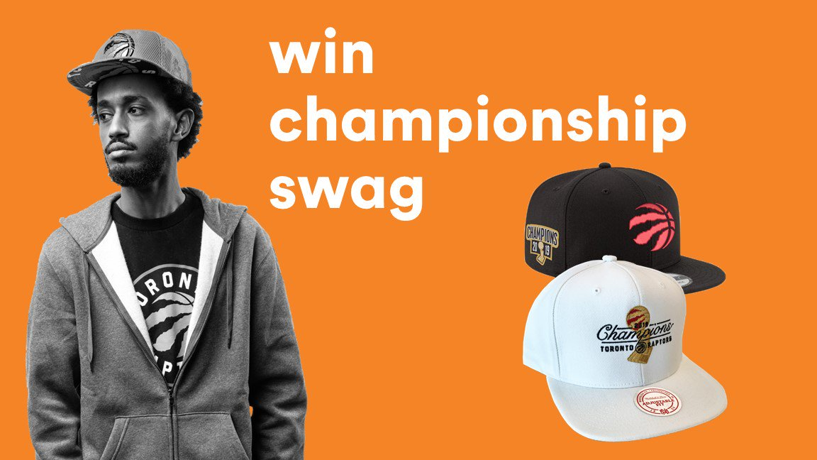 Didnt get your hands on any @Raptors championship gear? We're giving away championship hats to 2 lucky winners! Rules: 1.Follow @TangerineHoops 2.Reply with your NBA Finals prediction for next season! 3.Use hashtag #TangerineHoopsContest Full rules: bit.ly/33kAMlU