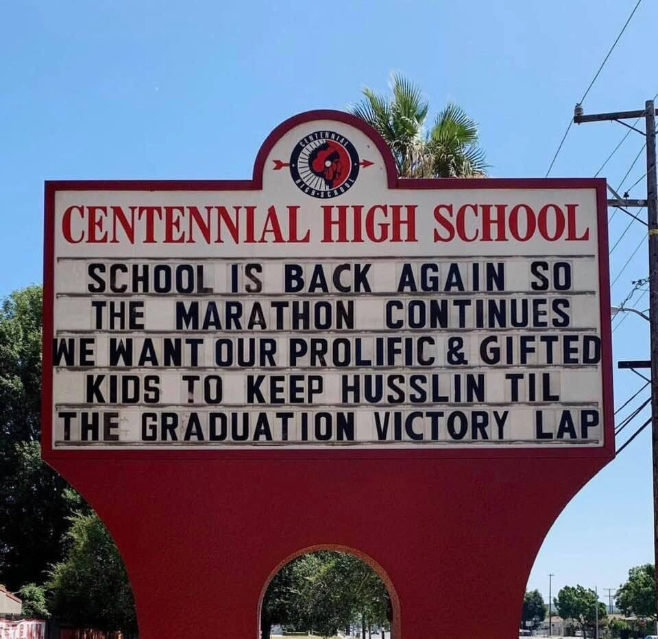 @NipseyHussle still being used as inspiration.  #LLNH  #TMC  pc: Greg Pollard of CHS in Compton. <br>http://pic.twitter.com/MD5KcBBbU9