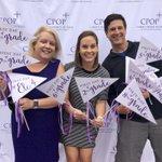 Image for the Tweet beginning: So fun walking the purple
