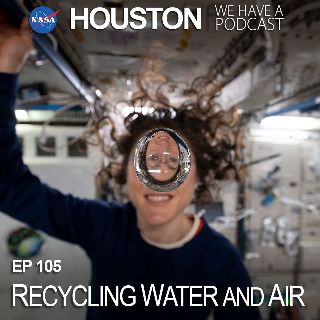 Turning water into air & back into water (or yesterday's coffee into today's coffee) is all part of life on the @space_station. 💦 This week on our podcast, Laura Shaw describes how these systems work & improvements needed for future #Artemis missions. nasa.gov/johnson/HWHAP/…