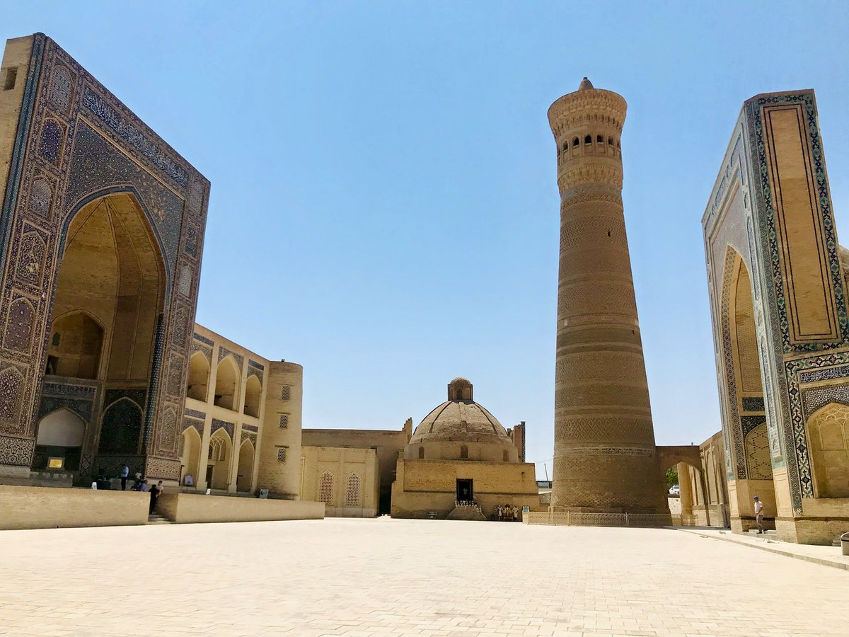 test Twitter Media - This weekend marks 792 yrs since Genghis Khan's death. He was so impressed by Bukhara's 12th century Kalyan minaret that he ordered to preserve it when his soldiers destroyed the city. @uclcaal is documenting #Bukhara & other cultural sites in Central Asia https://t.co/3dvRIUsJXb https://t.co/VJsVzCiXSm