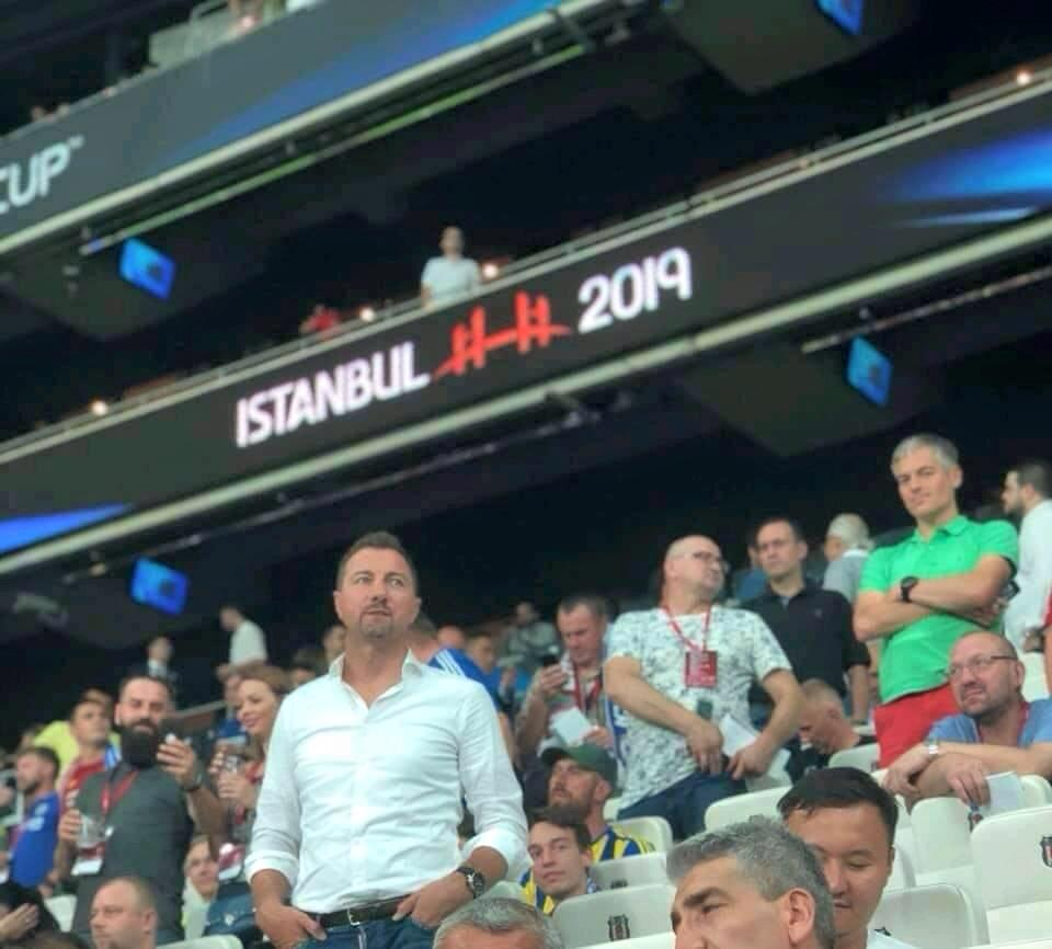 Liverpool hero of 2005 Jerzy Dudek pictured in Istanbul.