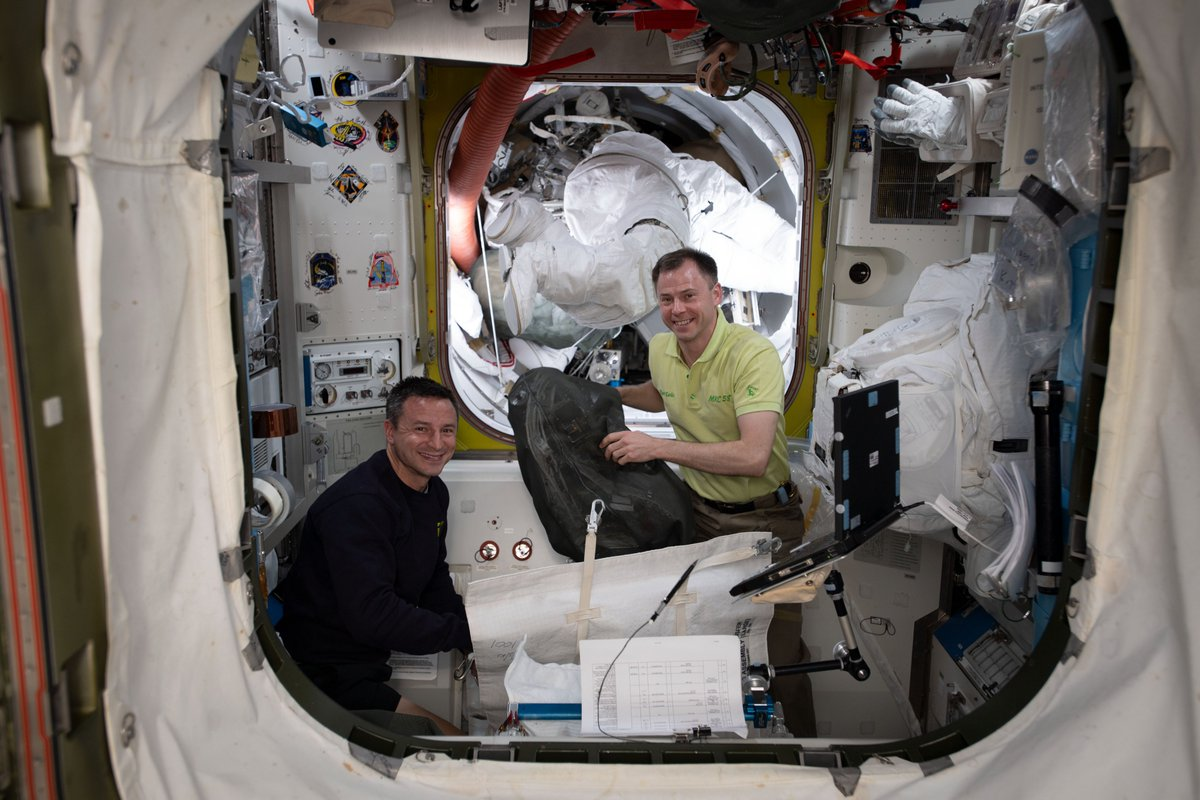 Its been a busy week on @Space_Station prepping for our upcoming #spacewalk! @AstroDrewMorgan & I will assist in the installation of International Docking Adapter-3, which will provide a 2nd docking port to station for the future arrivals of @Commercial_Crew spacecraft.