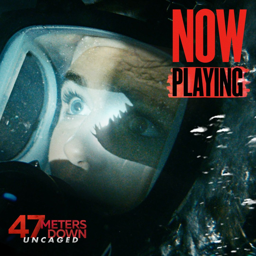 47 meters down uncaged showtimes