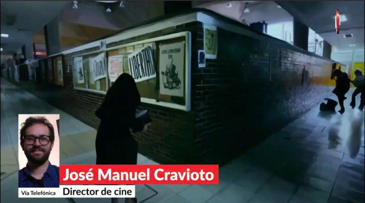 """RT @AristeguiOnline: El director José Manuel Craviotto presenta """"Olimpia"""", un largometraje animado sobre el movimiento estudiantil del 68, en #AristeguiEnVivo 👉http://ow.ly/TsJU30pmEwY"""