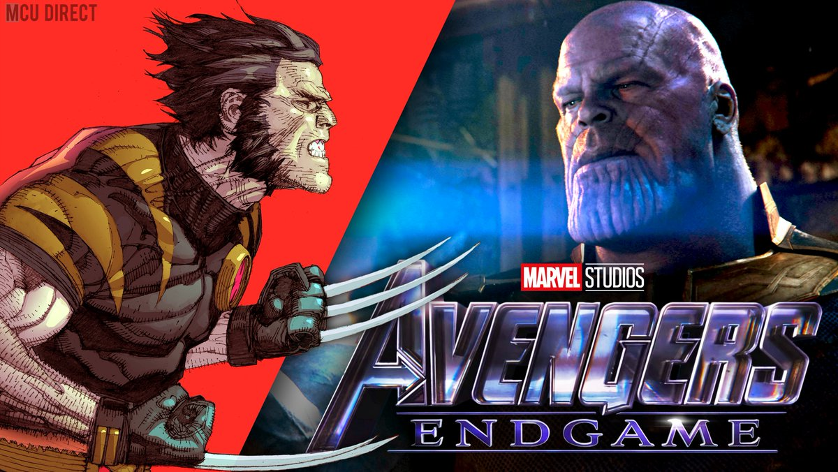 #AvengersEndgame co-director Joe Russo has shared that he would have love[d] to see a fiercely motivated Wolverine go... up against Thanos in the movie! bit.ly/3081Oe1