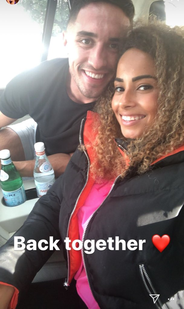 Amber and Greg are reunited! Look at their cute faces. #LoveIsland <br>http://pic.twitter.com/KVMEenJ4Pz