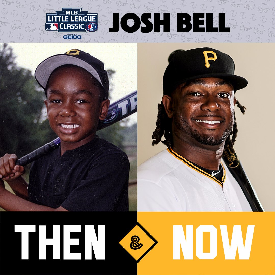 Playing for the @Pirates? For @JBell_19, it was basically destiny. #LittleLeagueClassic