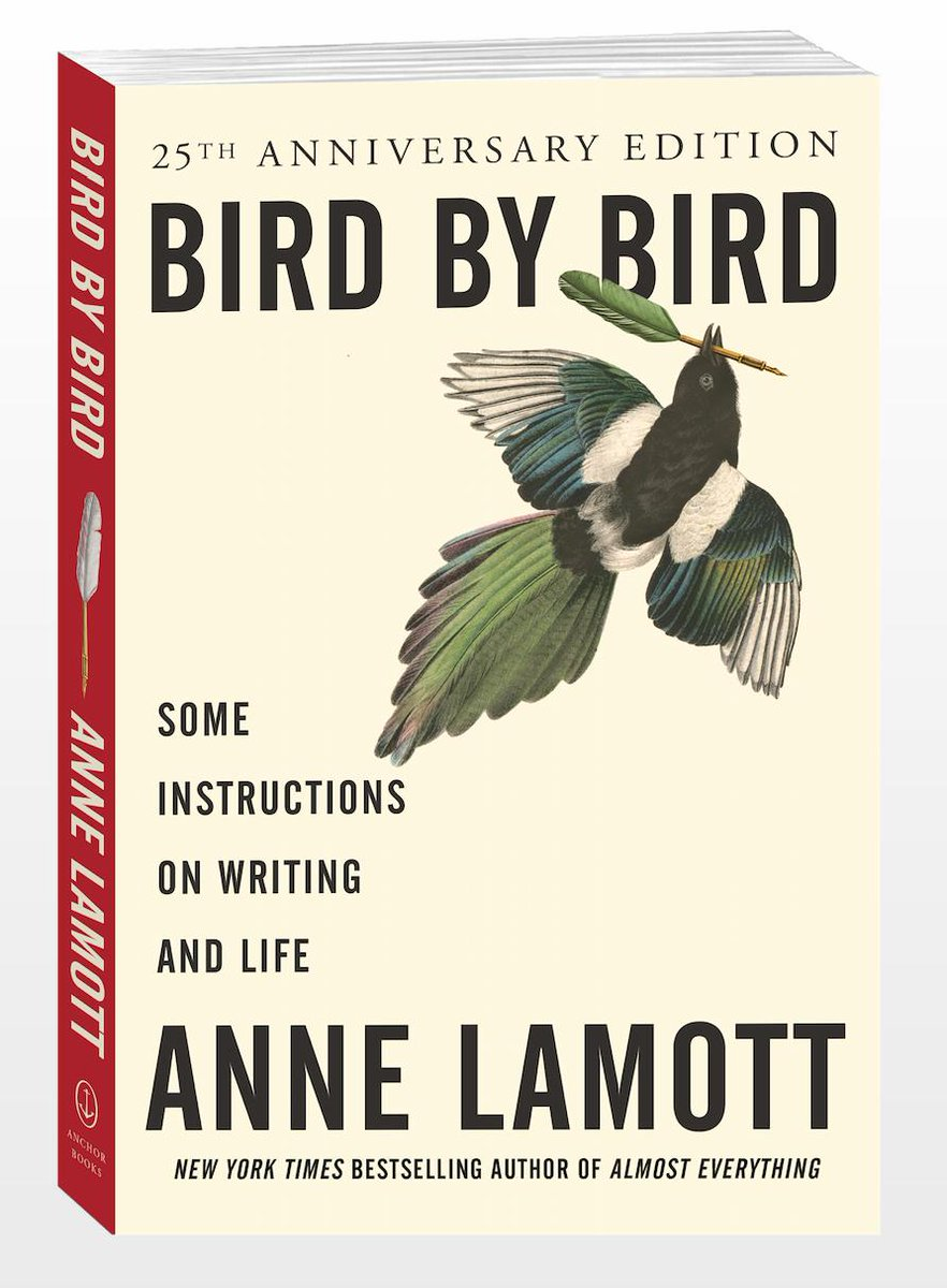 HUGE NEWS— Anchor Books will be reissuing BIRD BY BIRD by @ANNELAMOTT in honor of the books 25th Anniversary!! Check out the new cover here and look for the book in stores this September. @riverheadbooks ow.ly/S53v50vxQ8M
